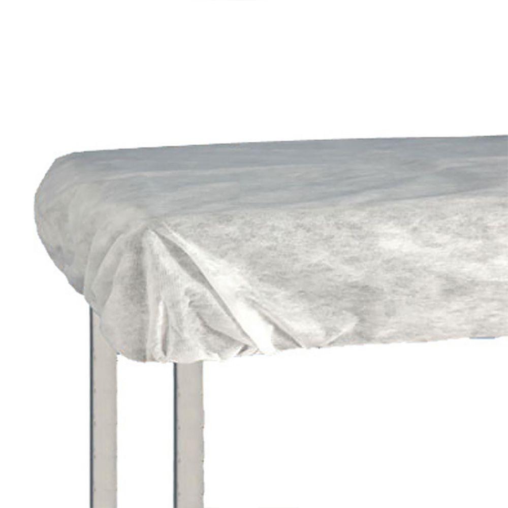 Lençol Descartável TNT Branco com Elástico 2,20 x 1,40cm 10un Ana Dona