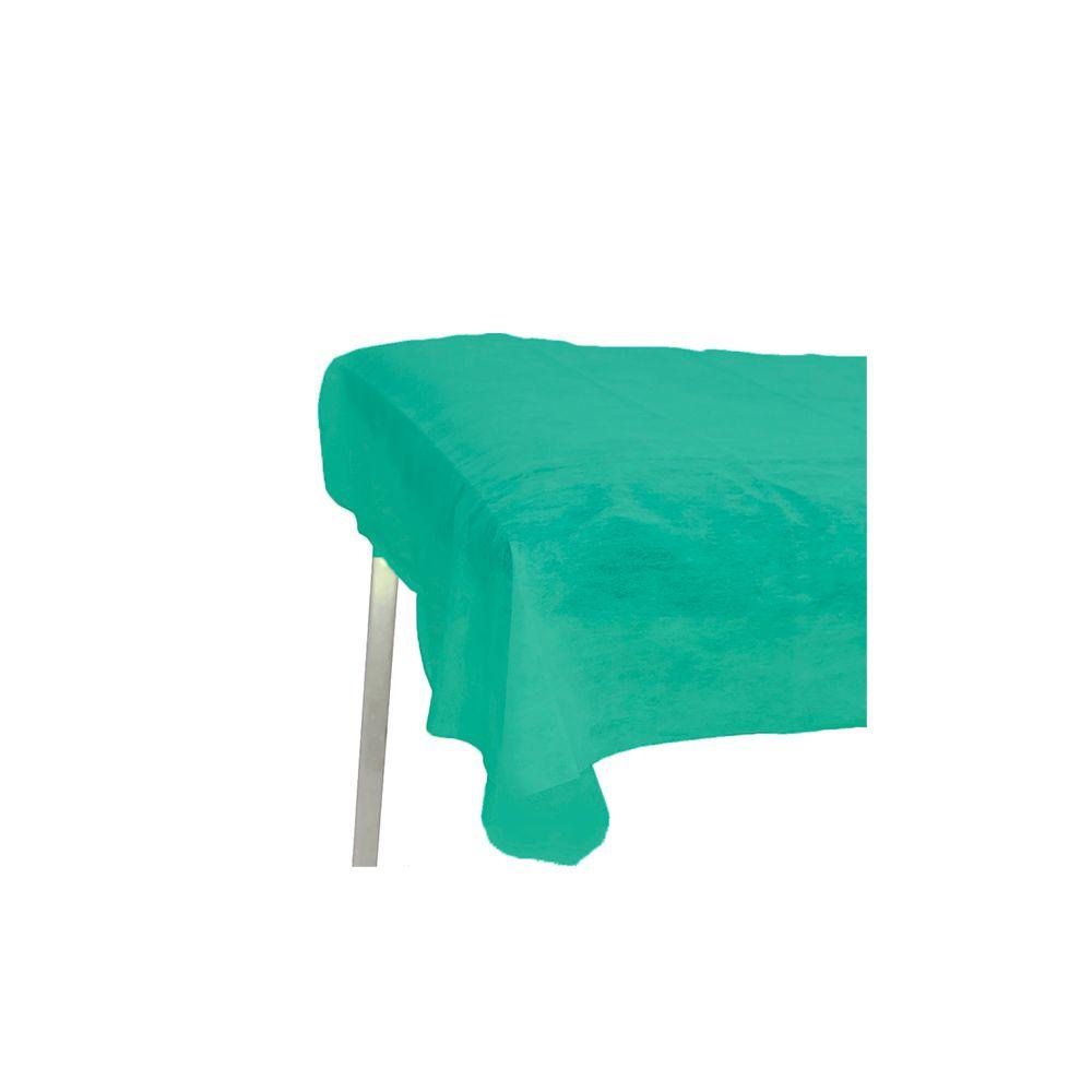 Lençol Descartável TNT Sem Elástico Verde 2,00x0,90cm 10un