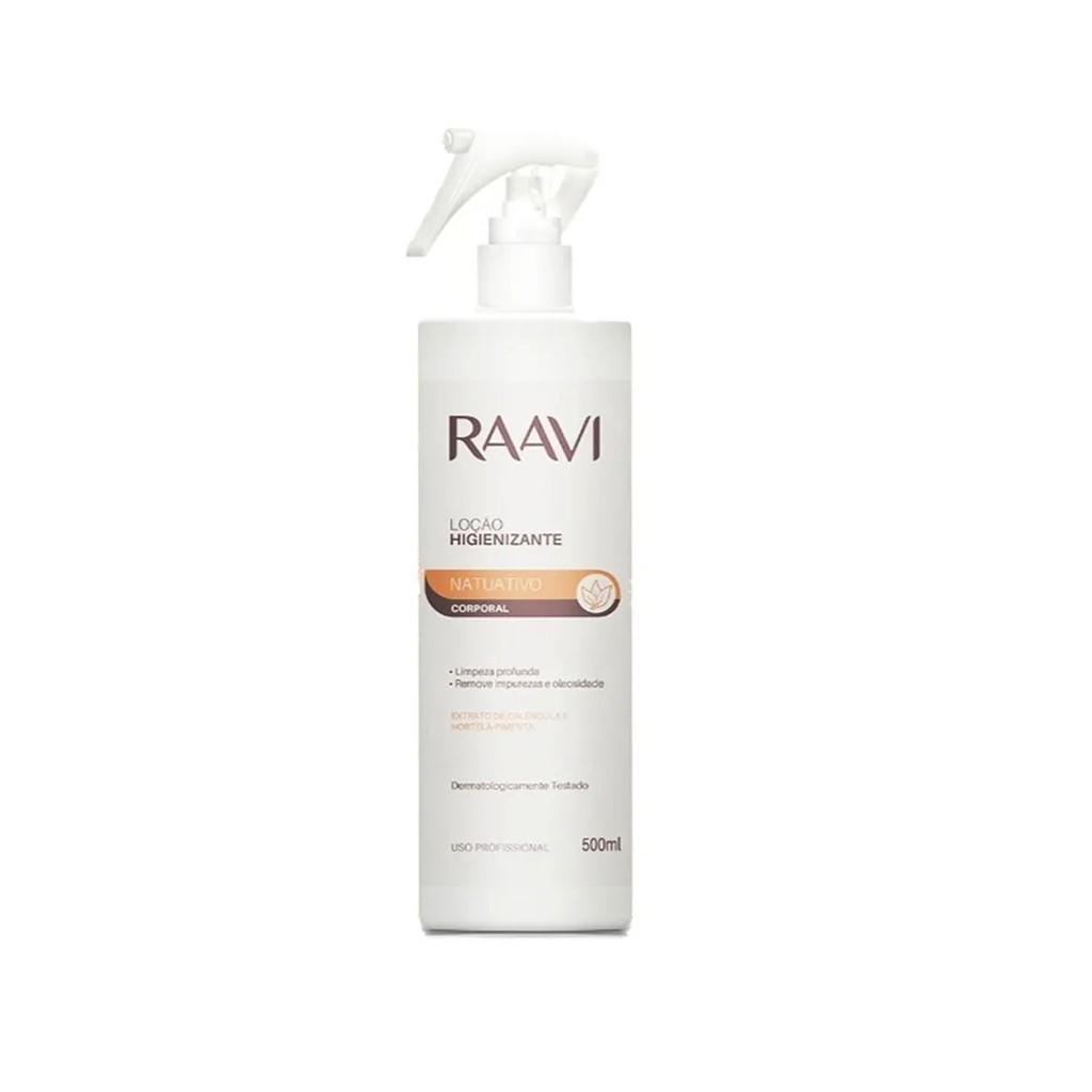 Loção Higienizante 500 Ml- Raavi