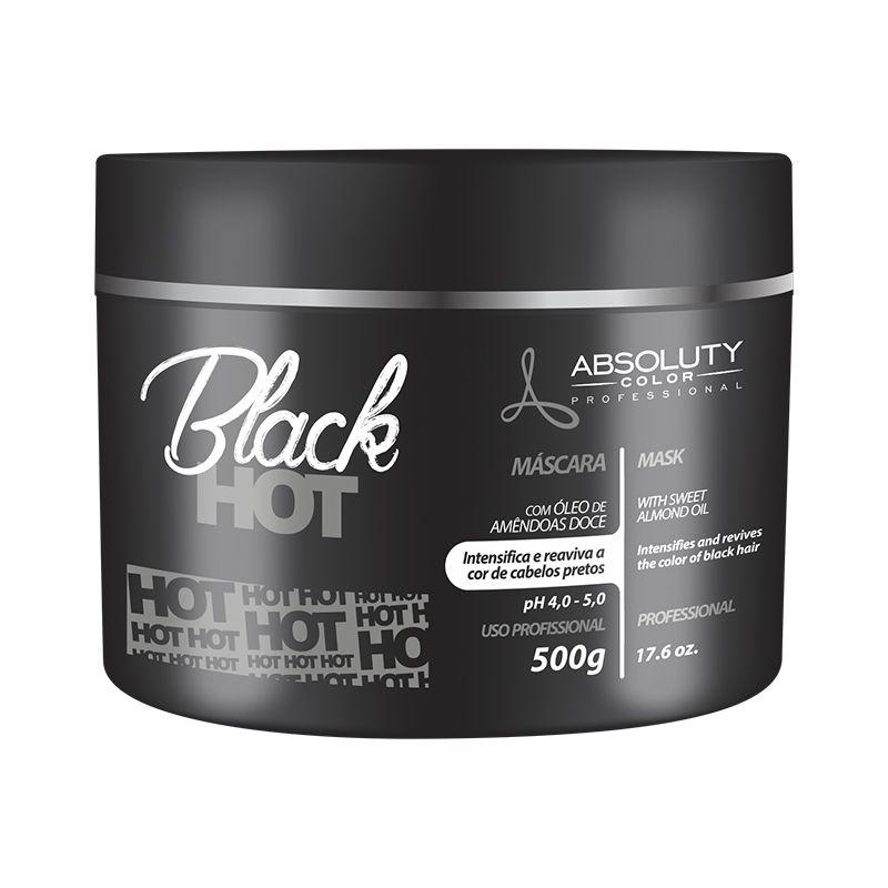 Mascara Hot Black 500g Absoluty Color