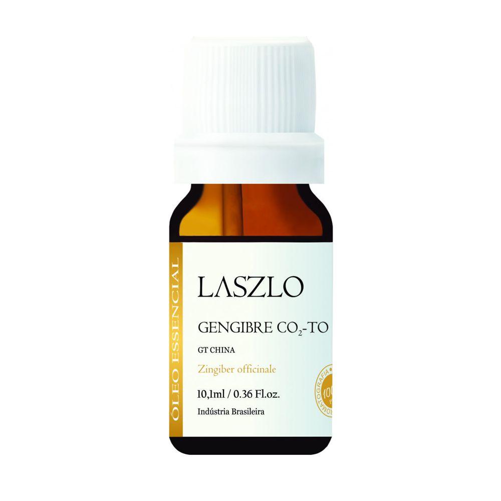 Óleo Essencial Gengibre CO2 TO 10,1ml Laszlo