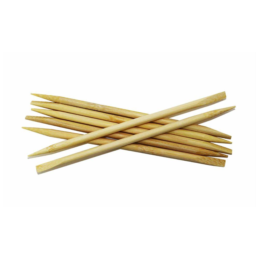 Palito Bambu Ponta/Chanfro 13,5cm X 4mm 50un Cera Fácil