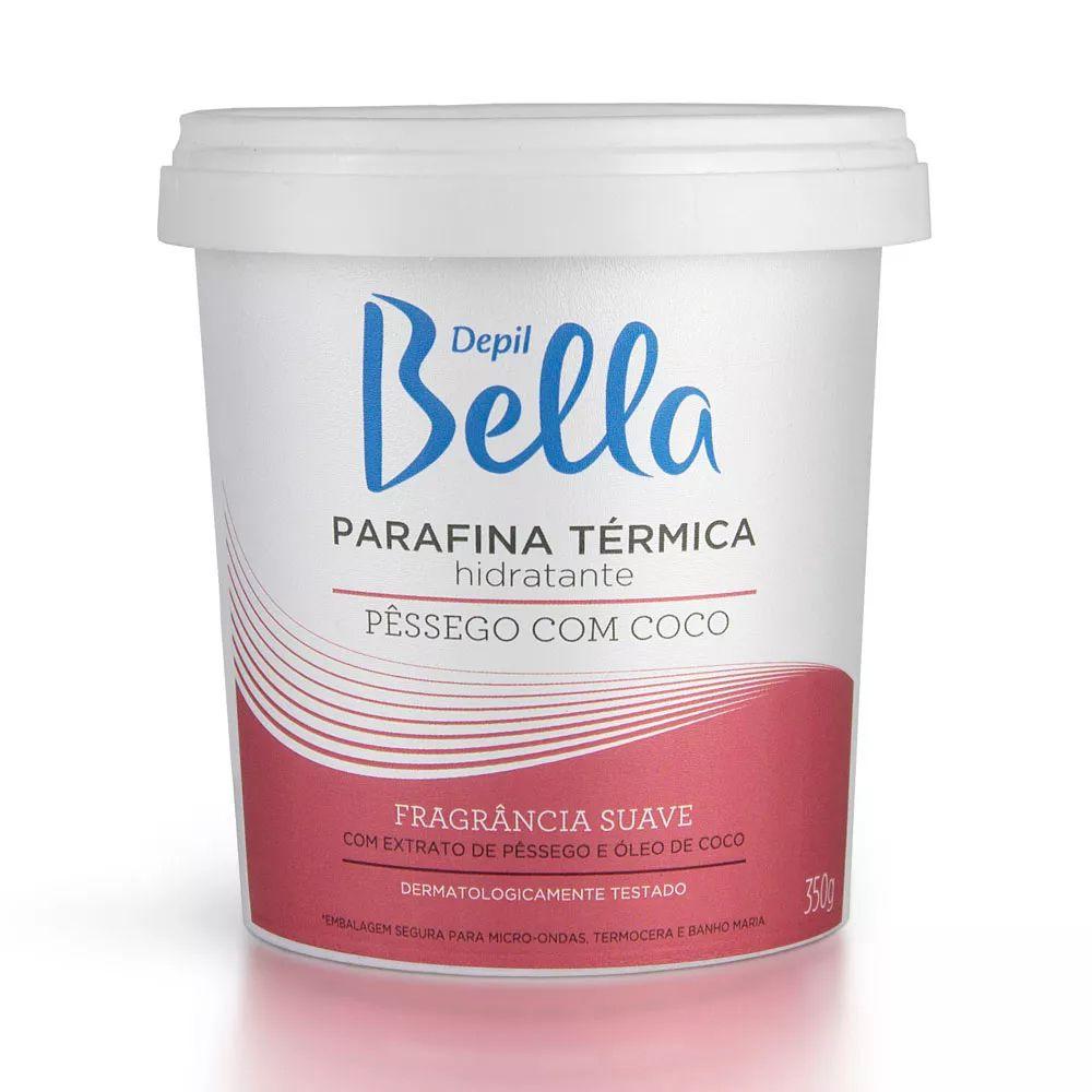 Parafina Térmica Pêssego com Coco 350g Depil Bella