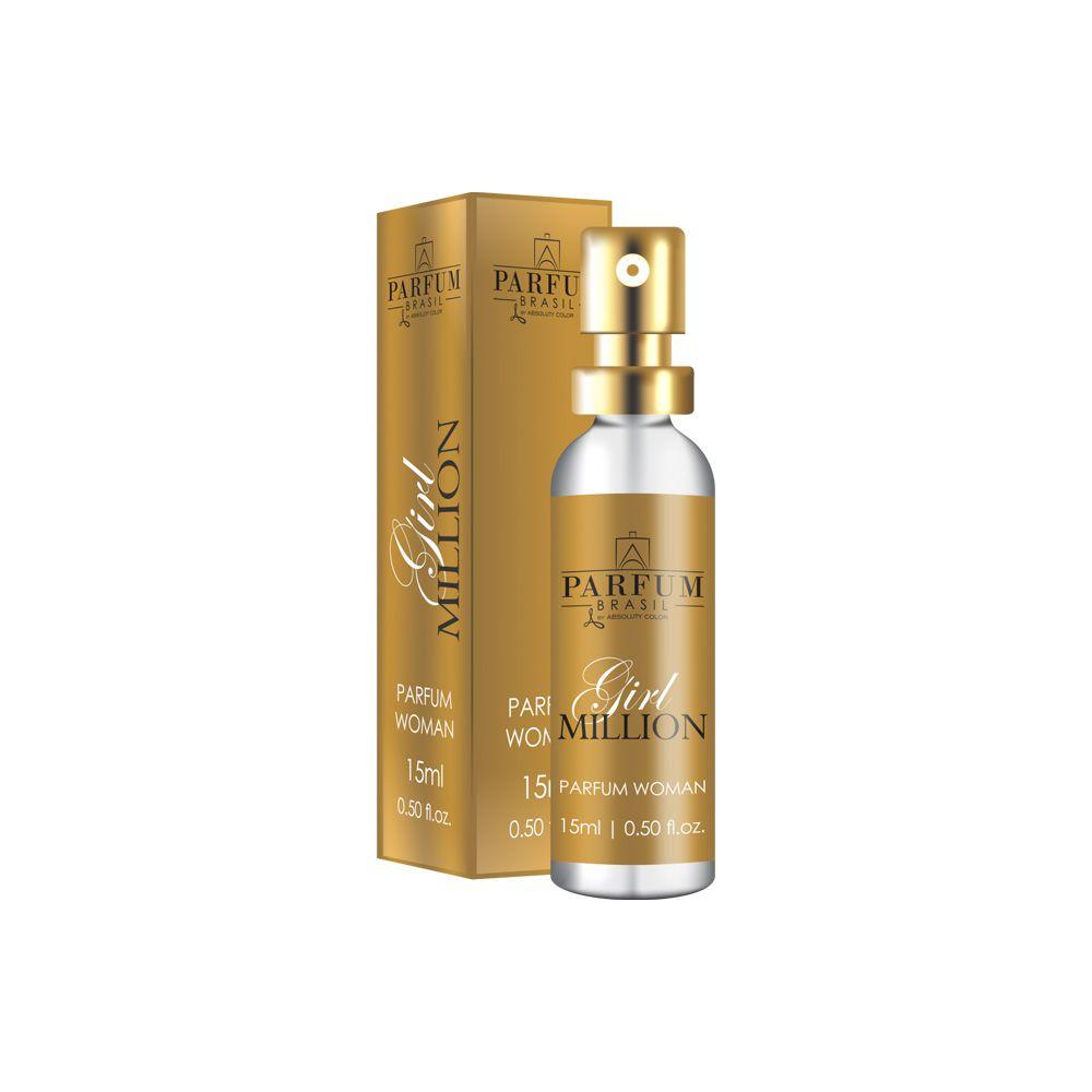 Perfume Parfum Girl Million 15ml Absoluty Color