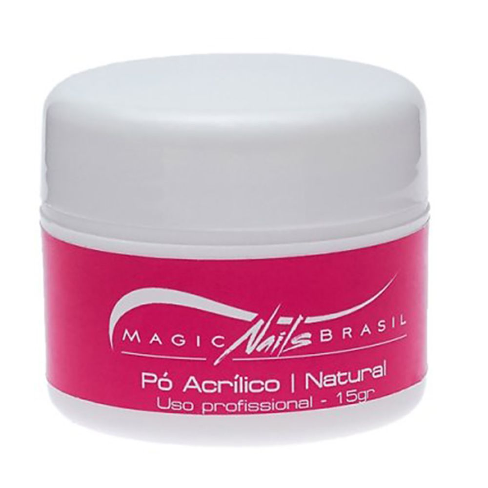 Pó Acrílico Natural 15g Magic Nails