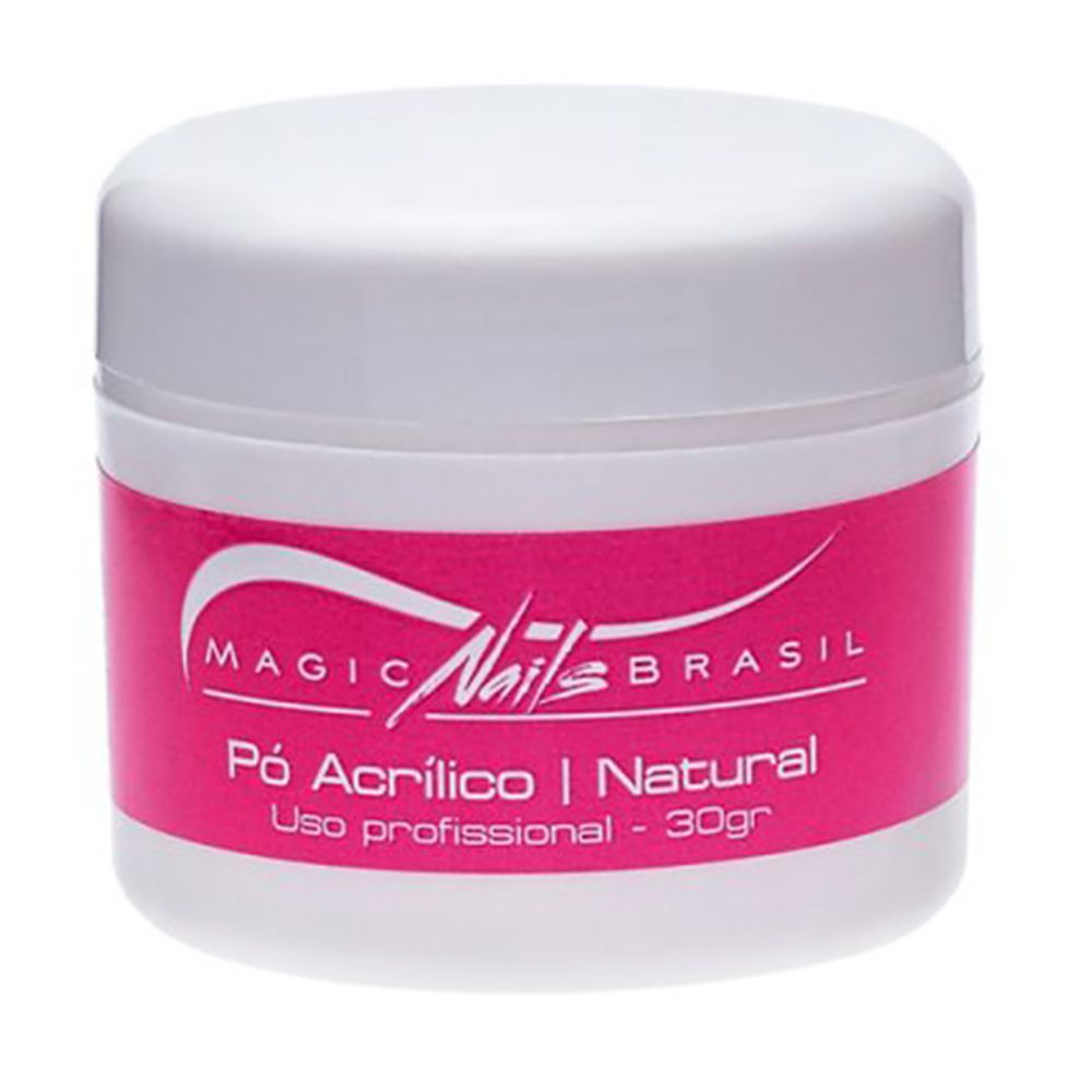 Pó Acrílico Natural 30g Magic Nails