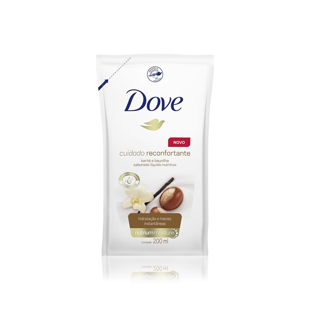 Refil Sabonete Líquido Cuidado Reconfortante Dove 200ml
