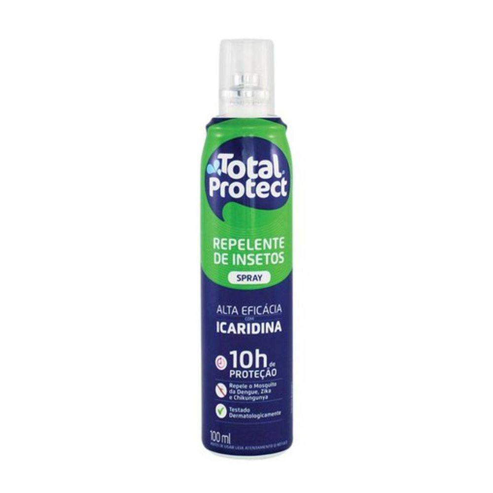 Repelente Spray Com Icaridina 100ml Total Química