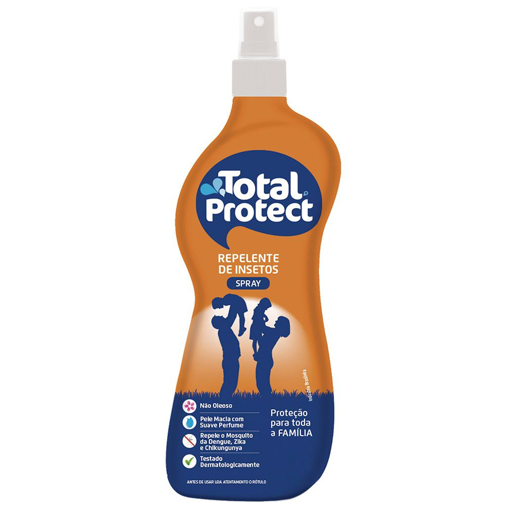 Repelente Total Protect 120ml Total Química