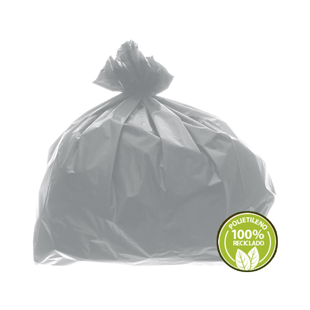 Saco de Lixo 0,025mm 60 Litros Branco 100un