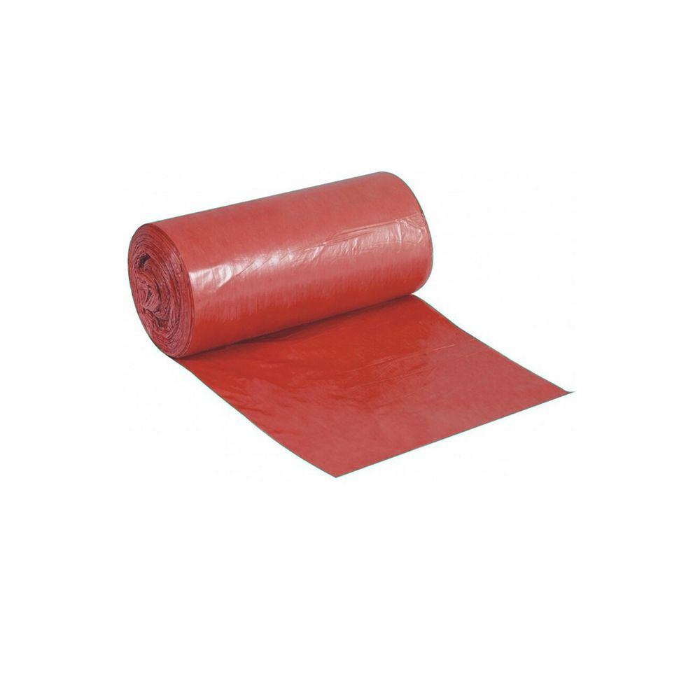 Saco de Lixo em Rolo 15 Litros Vermelho 50un