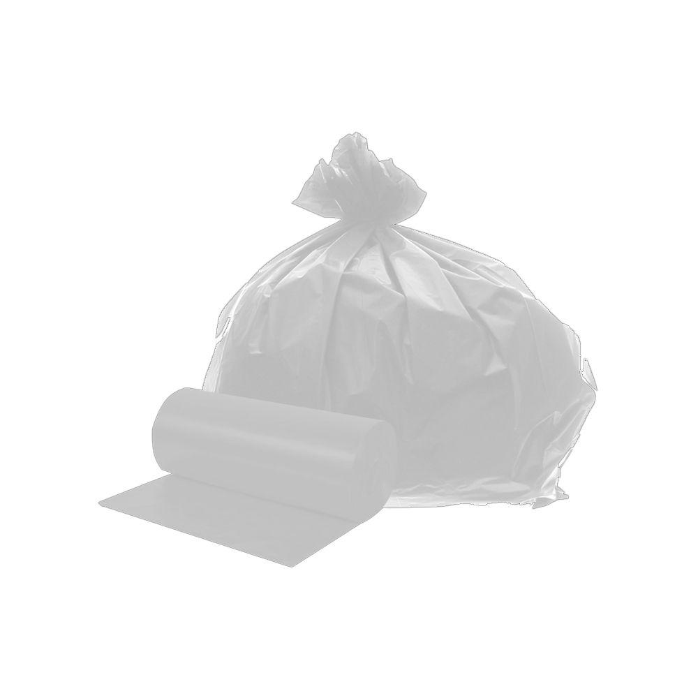 Saco de Lixo em Rolo 50 Litros Branco 25un