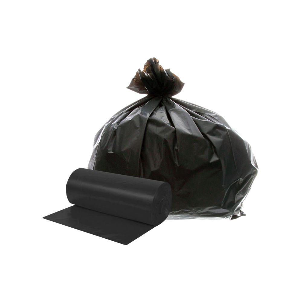 Saco de Lixo em Rolo 50 Litros Preto 25un