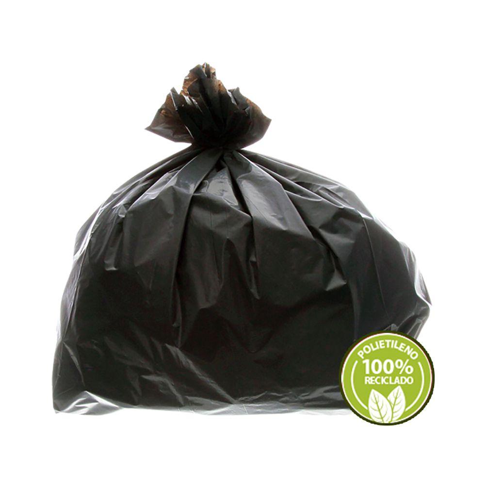 Saco de Lixo Reforçado 100 Litros Preto 100un