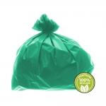 Saco de Lixo Super Leve 60 Litros Verde 100un