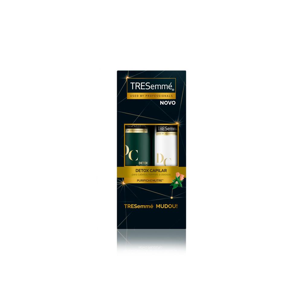 Shampoo 400ml + Condicionador 200ml Detox Capilar Tresemmé