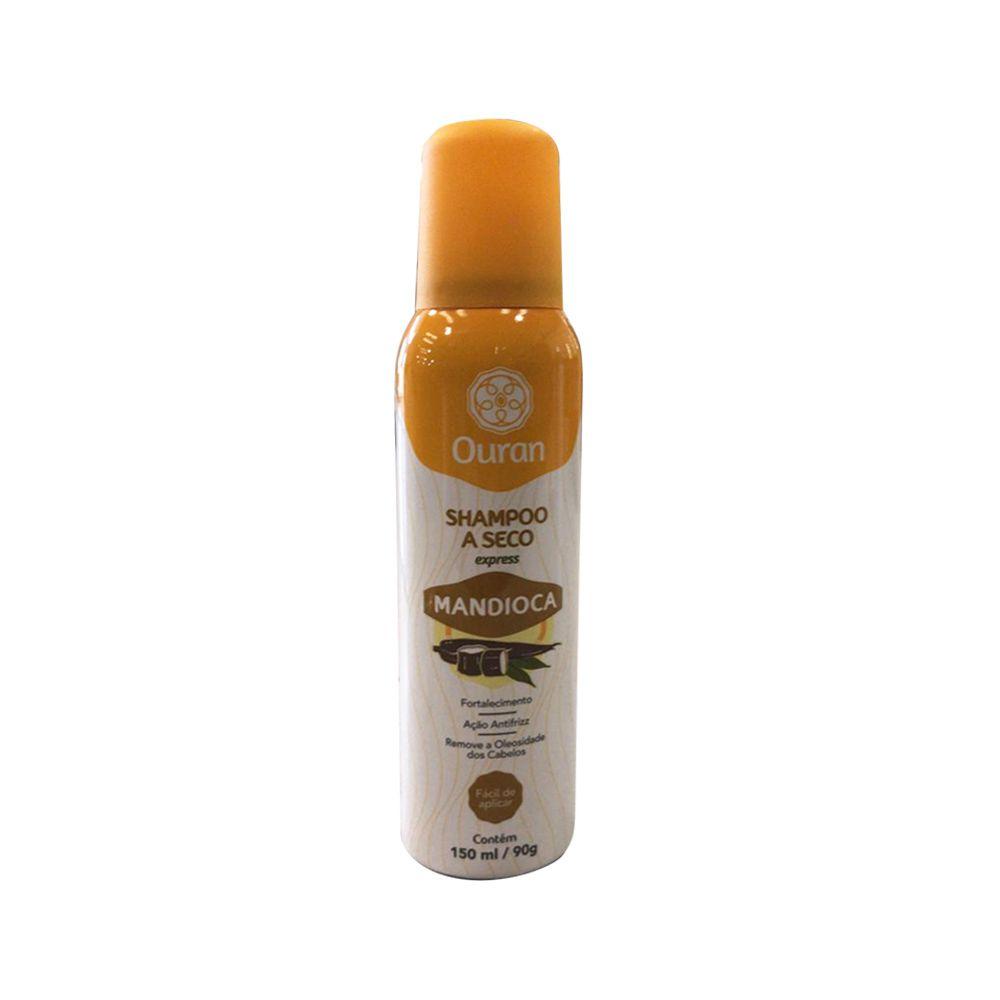 Shampoo a Seco Mandioca 150ml Ouran