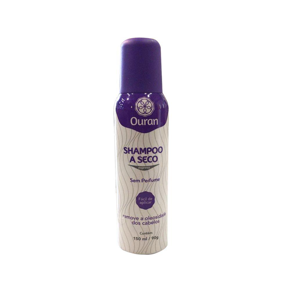 Shampoo a Seco Sem Perfume 150ml Ouran