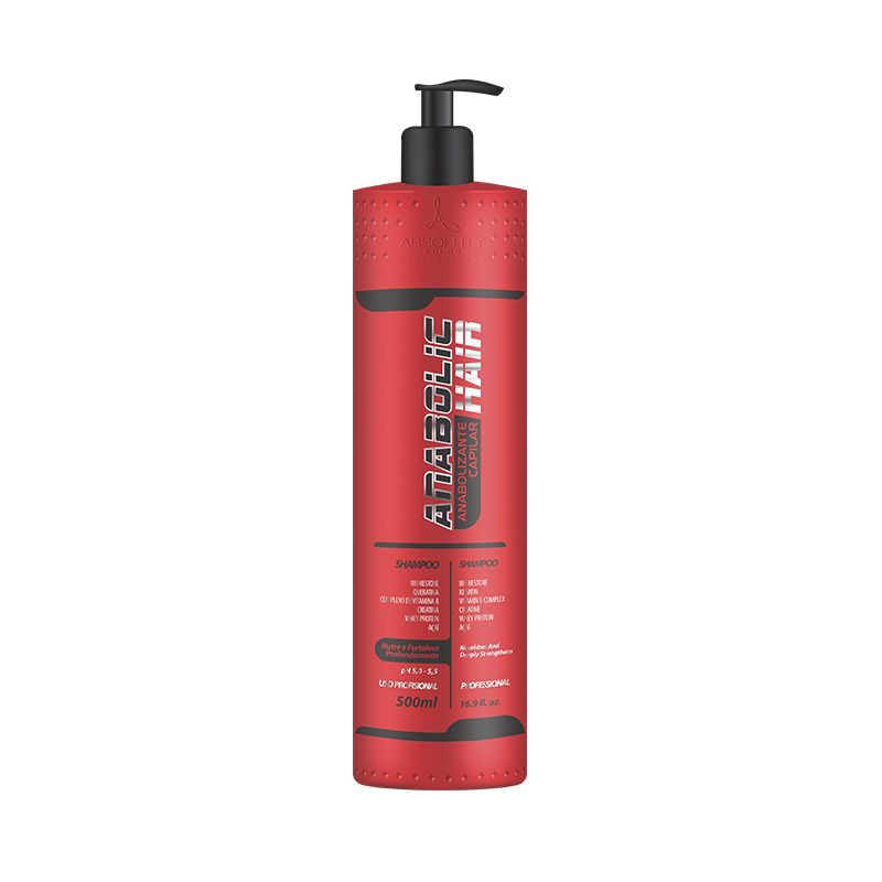 Shampoo Anabolic Hair 500ml Absoluty Color