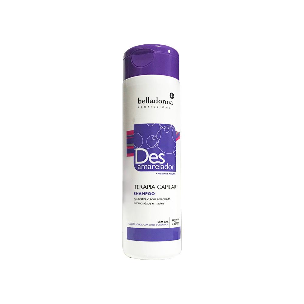 Shampoo Desamarelador com Argan 250ml Belladonna