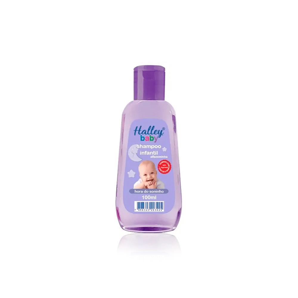 Shampoo Infantil Hora do Soninho 100ml Halley Baby