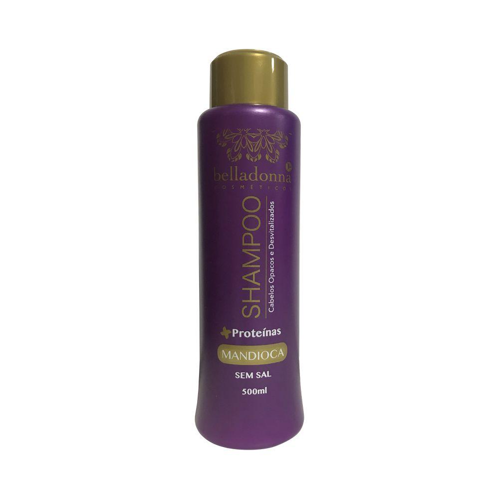 Shampoo Mandioca 500ml Belladonna