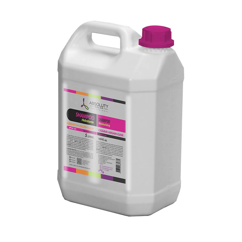 Shampoo Perolado Hidratante Profissional 5L Absoluty Color
