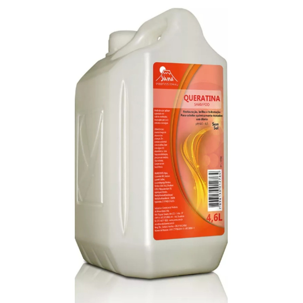 Shampoo Queratina 4,6L Yamá