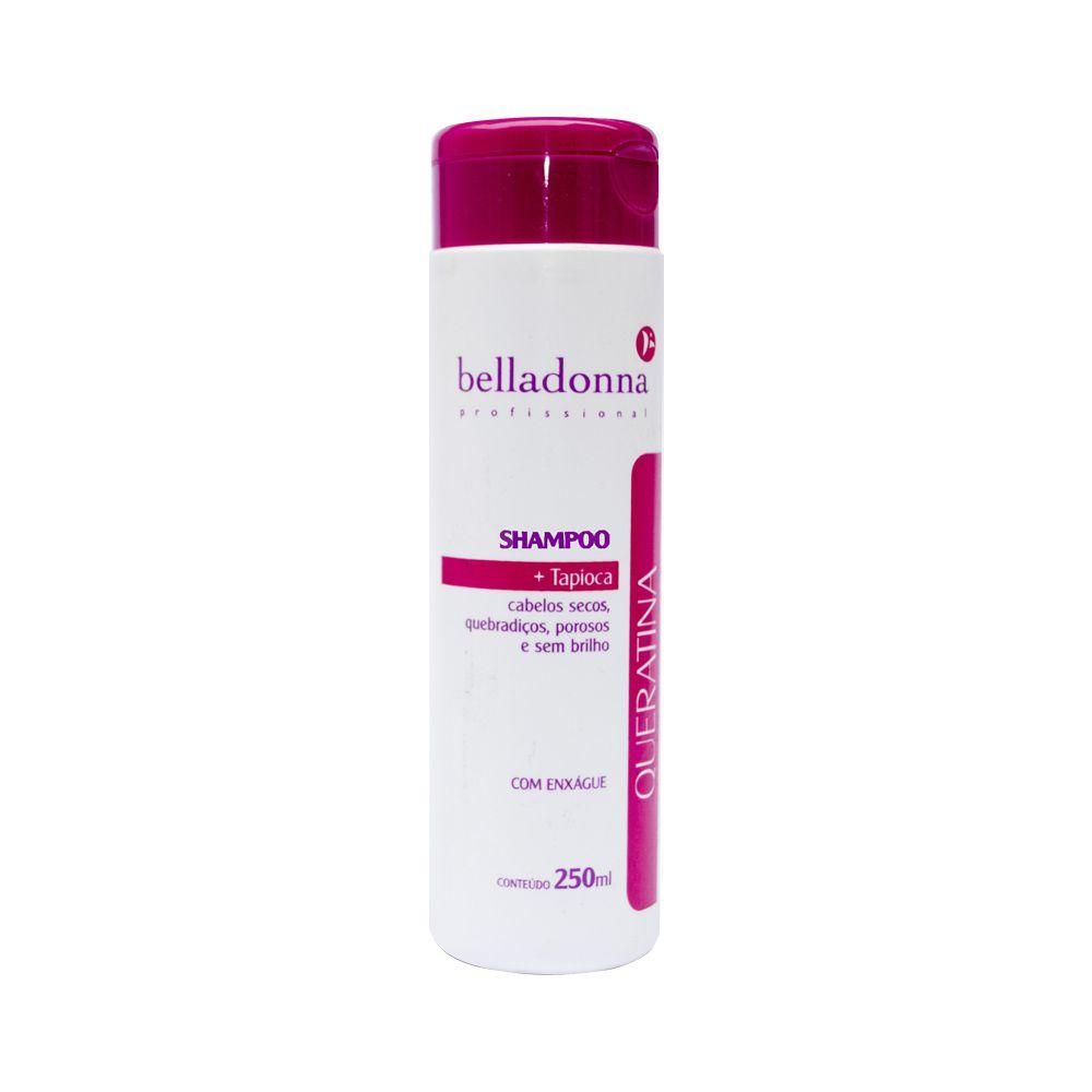 Shampoo Queratina + Tapioca 250ml Belladonna