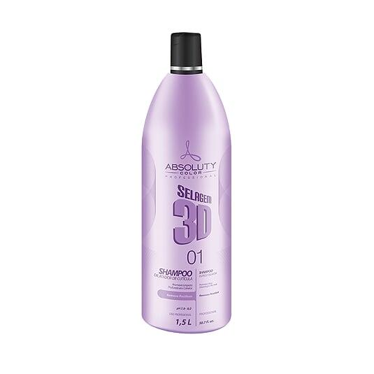 Shampoo Selagem 3D 1,5L Absoluty Color