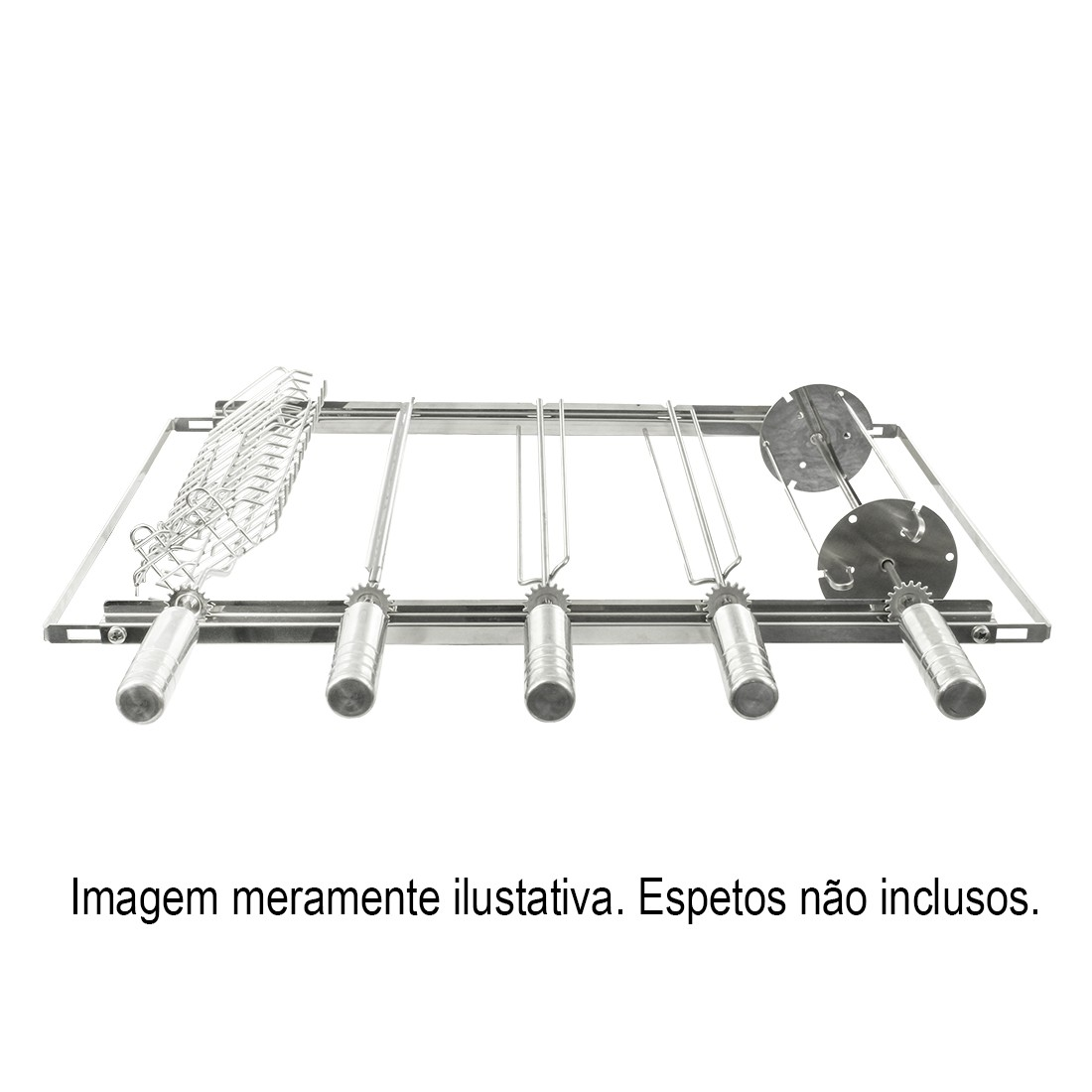 Giragrill Kit Suporte PM-5 Inox