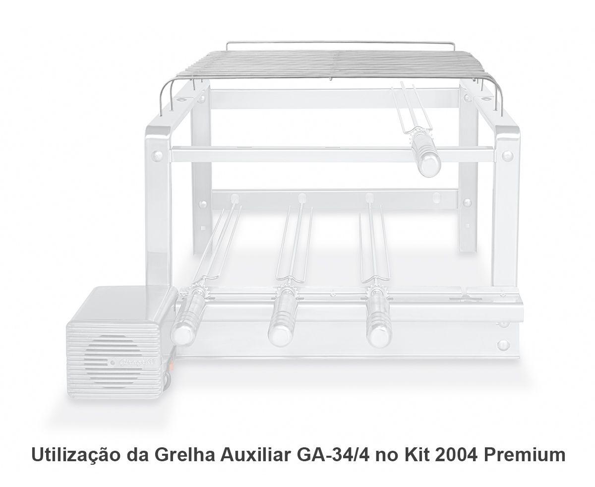 Grelha Auxiliar GA 34/4 Inox