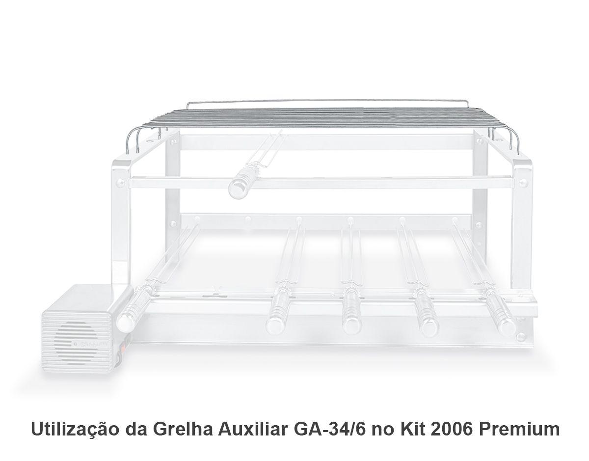 Grelha Auxiliar GA 34/6 Inox