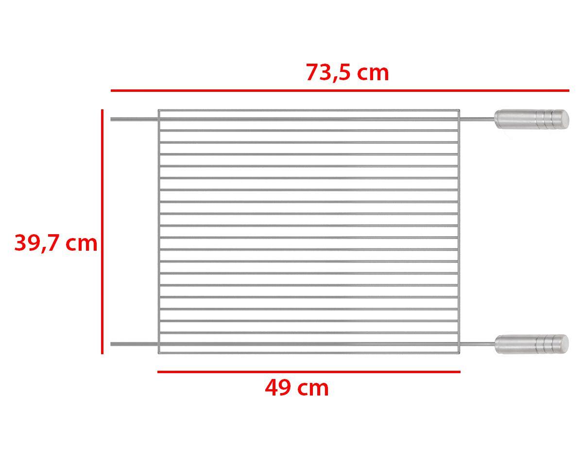 Grelha Tradicional GT-4050 Premium