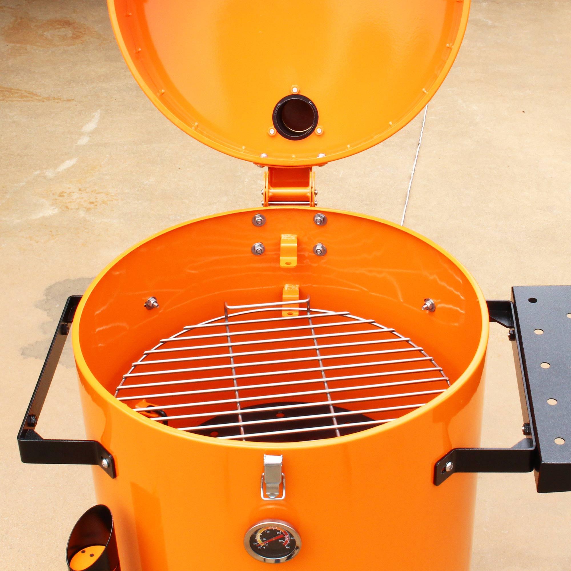 Grillex Drum Smoker Laranja/Preto