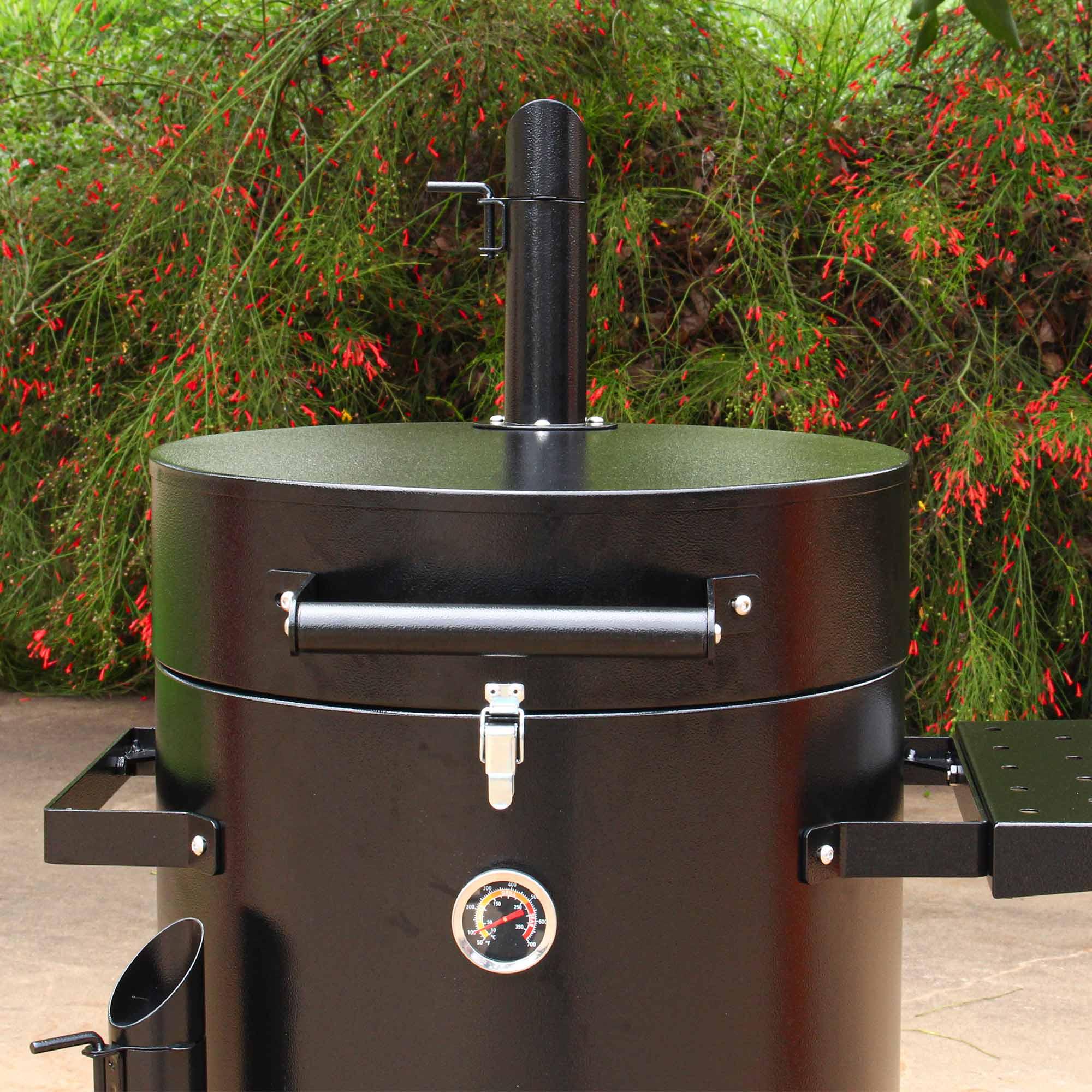 Grillex Drum Smoker Preto/Preto