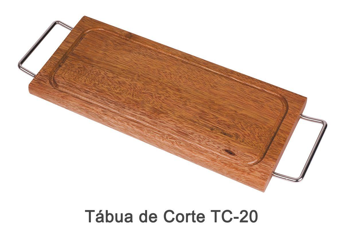 Tábua de Corte TC-20 + Pega Fácil PF-40 + Garra de Urso