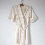 Robe de Cetim Marfim