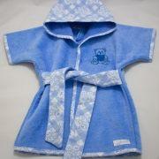 Roupão RN - Coleção Teddy Azul - Art Bord