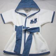 Roupão RN - Coleção Wood Azul Jeans - Art Bord