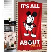 Toalha Praia  Velour Mickey III