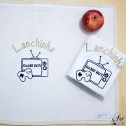 Toallha para Lanche Game Boy