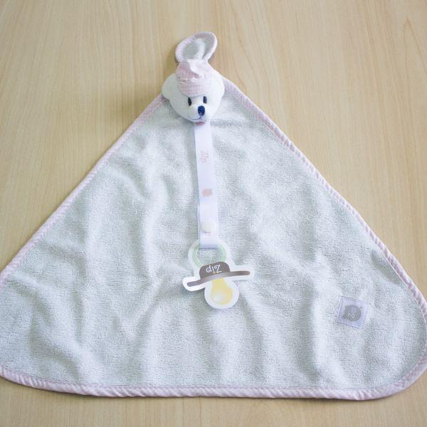 Blanket Atoalhado Jeans Rosa
