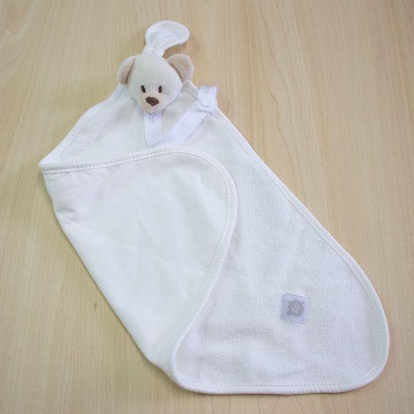 Blanket Atoalhado Urso Bege