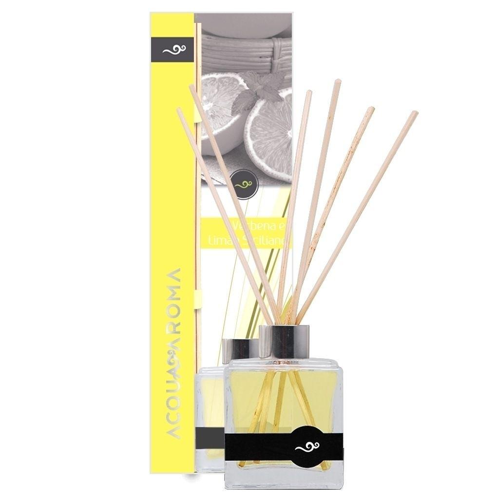 Difusor de Aromas 100ml Verbena e Limão Siciliano - Acqua Aroma