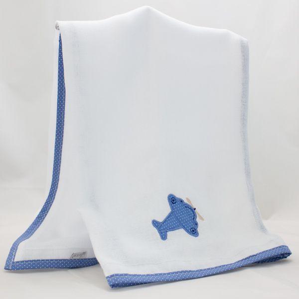 Fralda de Ombro - Coleção Terk Azul - Art Bord