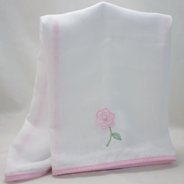 Fralda de Ombro - Coleção Zip Rosa - Art Bord