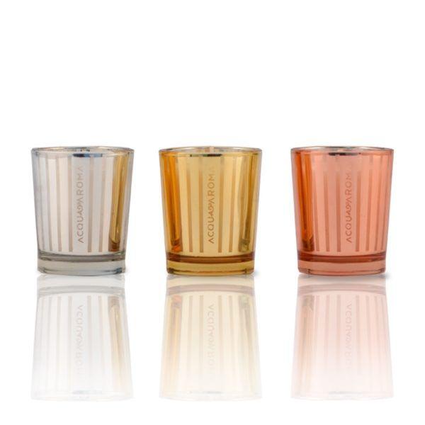 Kit Velas Perfumadas 40g - Lúmina - Acqua Aroma
