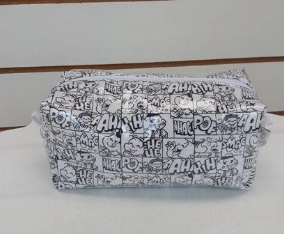 Necessaire NQM - Turma da Mônica - Coleção Gibi Art Bord