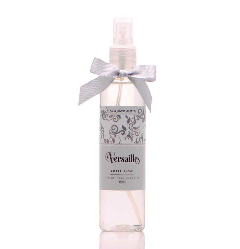 Perfume para Ambientes 200ml Amber Fiori - Versailles - Acqua Aroma